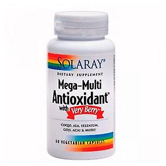 Solaray Antiox Mega Multi 60 Capsules