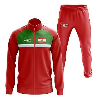 Chádez de fútbol libanés Concept (Rojo)