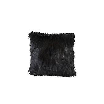 Light & Living Pillow 45x45 Cm FLUFFY Black