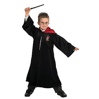 Kids Deluxe Harry Potter Robe World Book Day Halloween Fancy Dress Costume