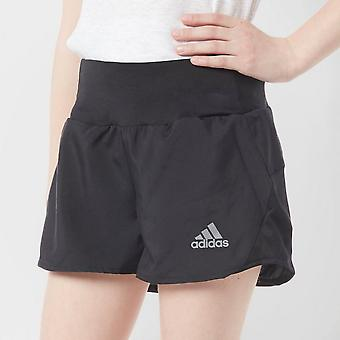 New adidas Girl's Training Running Sports Short Black