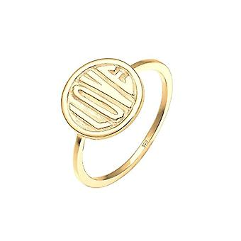 Women's Ring Elli - Gold Plated - Size 54 (17.2)