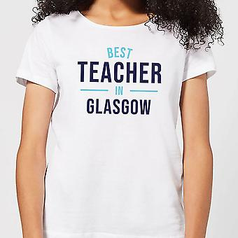 Best Teacher In Glasgow Women's T-Shirt - White