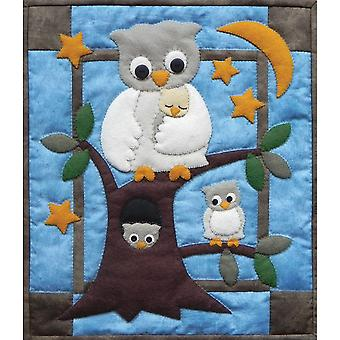 Owl Family Wall Hanging Quilt Kit 13