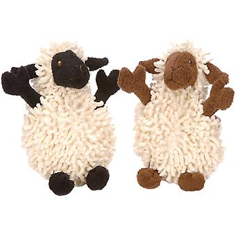 goDog Fuzzy Wuzzy with Chew Guard Small-Lamb 770655