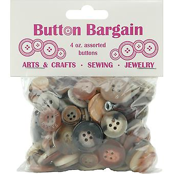 Button Bargain 4 Ounces Naturals 20003