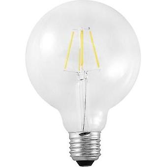 LED E27 Globe 8 W = 60 W Warm white (Ø x L) 95 mm x 125 mm EEC: A++ Segula Filament 1 pc(s)