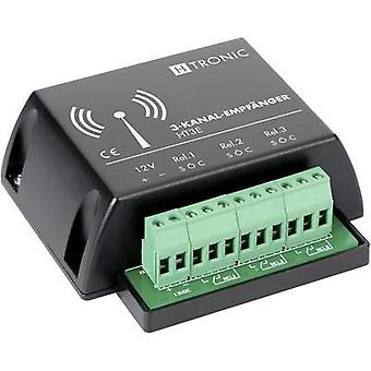 Wireless receiver 3-channel Frequency 868.35 MHz H-Tronic 1618255 Max. range (open field) 200 m