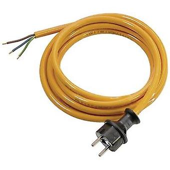 Current Cable [ PG plug - Cable, open-ended] Orange 3 m as - Schwabe 70918