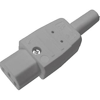 IEC connector C13 Series (mains connectors) 794 Socket, straight