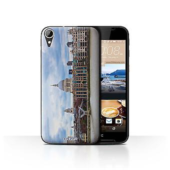 STUFF4 Case/Cover voor HTC Desire 830/St Pauls Cathedral/London Sites