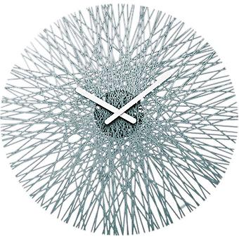 Grey Koziol Silk Clock