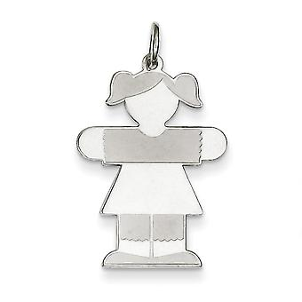 Sterling Silver Kid Charm - 1.0 Grams