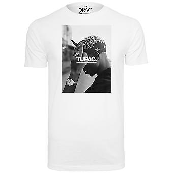 Mister tee shirt - 2PAC WORLD white