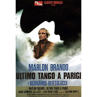 Last Tango In Paris Marlon Brando 1972 Movie Poster Masterprint