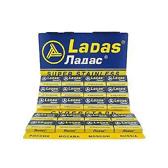 LADAS SUPER STAINLESS RAZOR BLADES - 100 BLADES
