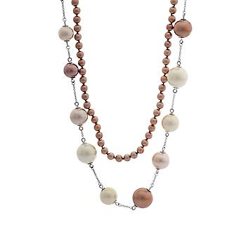 Misaki Ladies Necklace Stainless Steel TERRA MULTI QCRNTERRAMULTI