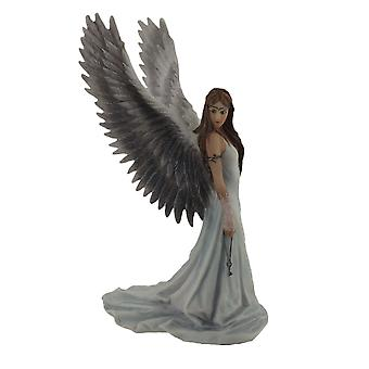 Anne Stokes `Spirit Guide` Angel Statue 9 1/2 In.