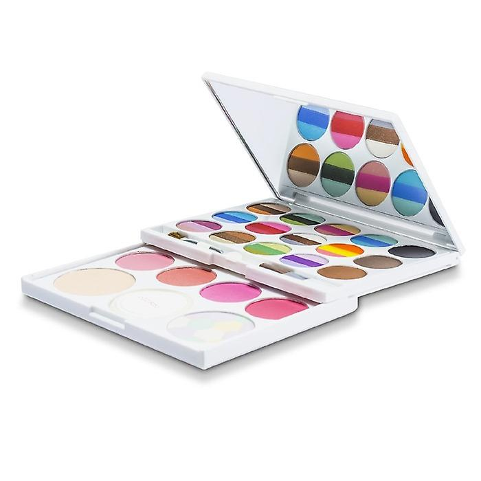 Arezia make-up kit AZ 01205 (36 kleuren oogschaduw, 4x Blush, 3x Brow Powder, 2x Powder) -