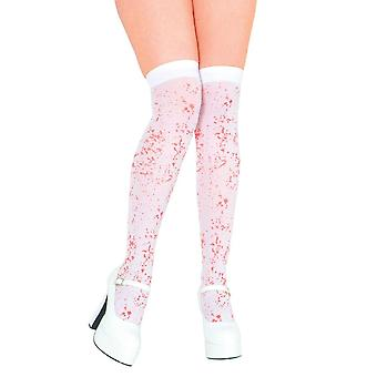Wicked witte Thigh Highs