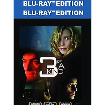 3 af en slags [Blu-ray] USA importerer