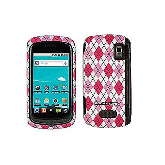 Body Glove Argyle Snap-On Case for LG Genesis US760 - Pink
