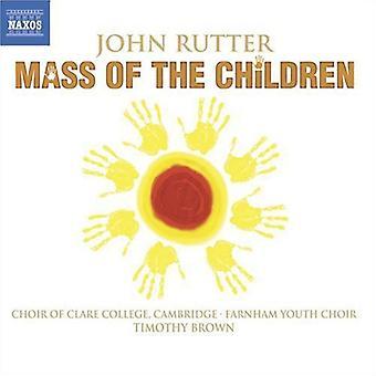 J. Rutter - John Rutter: Masse von den Kindern [CD] USA import