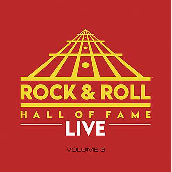 Rock and Roll Hall of Fame Live - Rock and Roll Hall of Fame Live: vol. [Vinyl] USA importerer