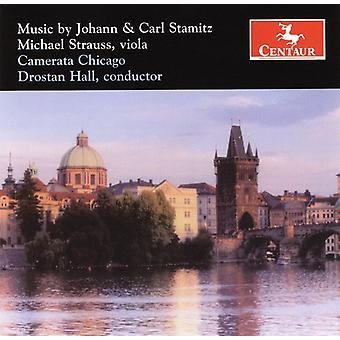 Stamitz/Stamitz - Music by Johann & Carl Stamitz [CD] USA import