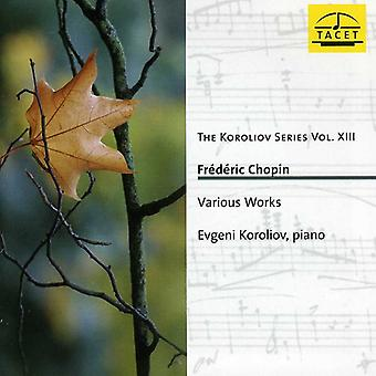 F. Chopin - The Koroliov Series, Vol. 13: Chopin [CD] USA import