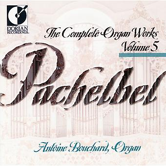 J. Pachelbel - Pachelbel Complete Organ Works Vol. 5 [CD] USA import
