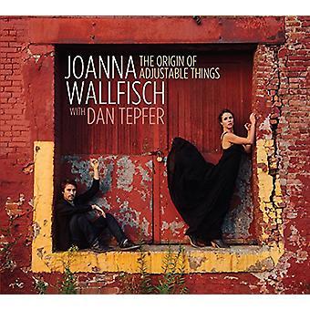Wallfisch, Joanna med Dan Tepfer - The oprindelse af justerbar ting [CD] USA import