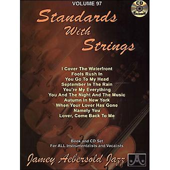 Jamey Aebersold - Lennie Niehaus-Standards with Strings [CD] USA import