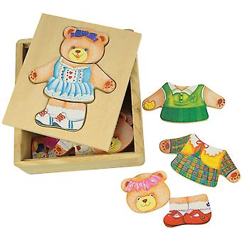 Bigjigs Toys Dress Up Mrs Bear