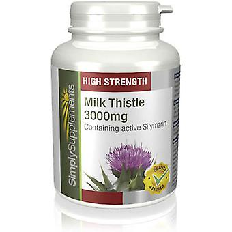 Milk-thistle-3000mg - 120 Tablets