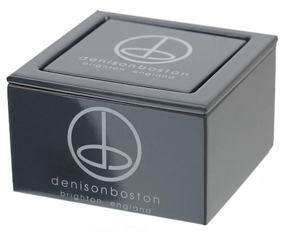 denisonboston Skimm Classic Onyx Cufflinks - Black