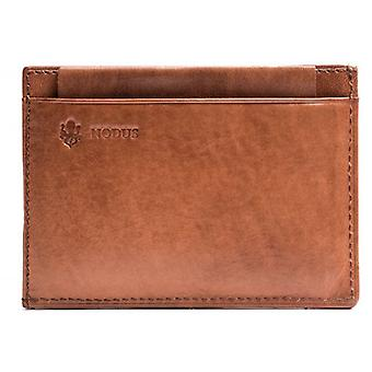 Nodus Compact Wallet - Chestnut Brown