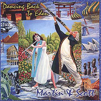 Martin & Scott - Dancing Back to Eden [CD] USA import