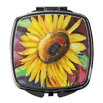 Carolines Schätze JMK1268SCM Sonnenblumen Kompakt-Spiegel
