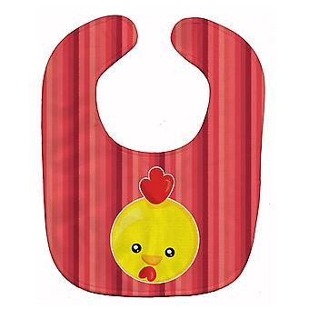Carolines skarby BB6929BIB kurczaka twarzy Baby Bib