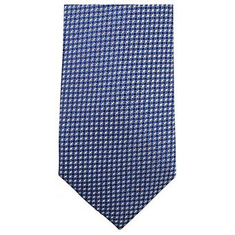 Knightsbridge Neckwear Small Cross Tie - Blue