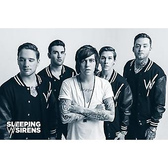 Sleeping with Sirens Group Poster Poster Print
