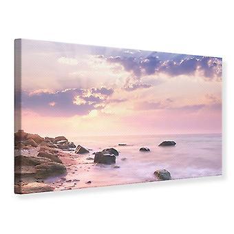Canvas Print Sunrise At Sea