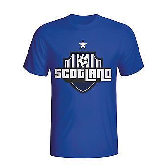 Schotland land Logo T-shirt (blauw) - Kids