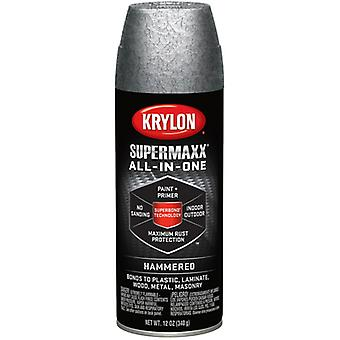 SuperMaxx Paint 12oz-Silver Hammered 89-89