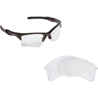 Best SEEK Replacement Lenses for Oakley Sunglasses HALF JACKET 2.0 Crystal Clear