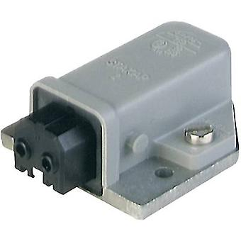 Mains connector STAKAP Series (mains connectors) STAKAP Socket, horizontal mou