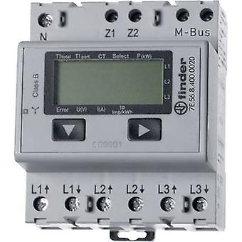 Electricity meter (3-phase) incl. converter jack Digital 5 A MID-approved: No