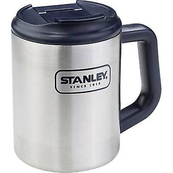 Thermos travel mug Stanley by Black & Decker Isoliertasse Adventure Camp-Mug Stainless steel, Dark blue 473 ml 10-01701-