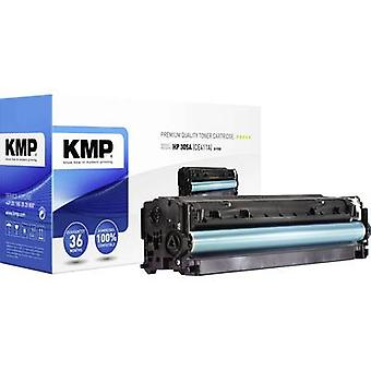 KMP Toner cartridge replaced HP 305A, CE411A Compatible Cyan